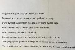 Wyniki konkursu o Kubusiu Puchatku