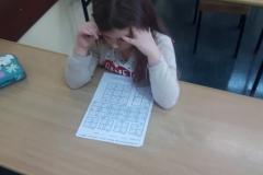 Szkolny etap Mistrzostw w Sudoku klas 1-3