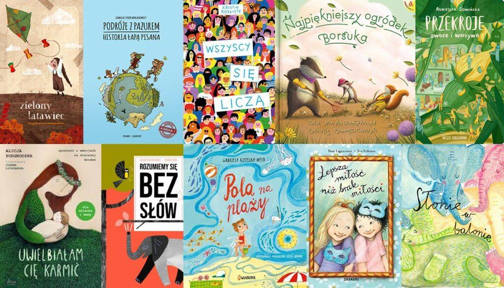 książki dla dzieci na wakacje 2020 | Bajkochłonka